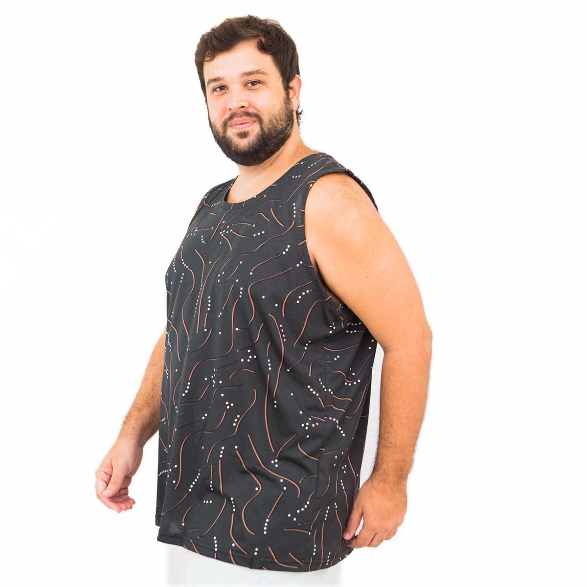 Regata Plus Size Masculina Points