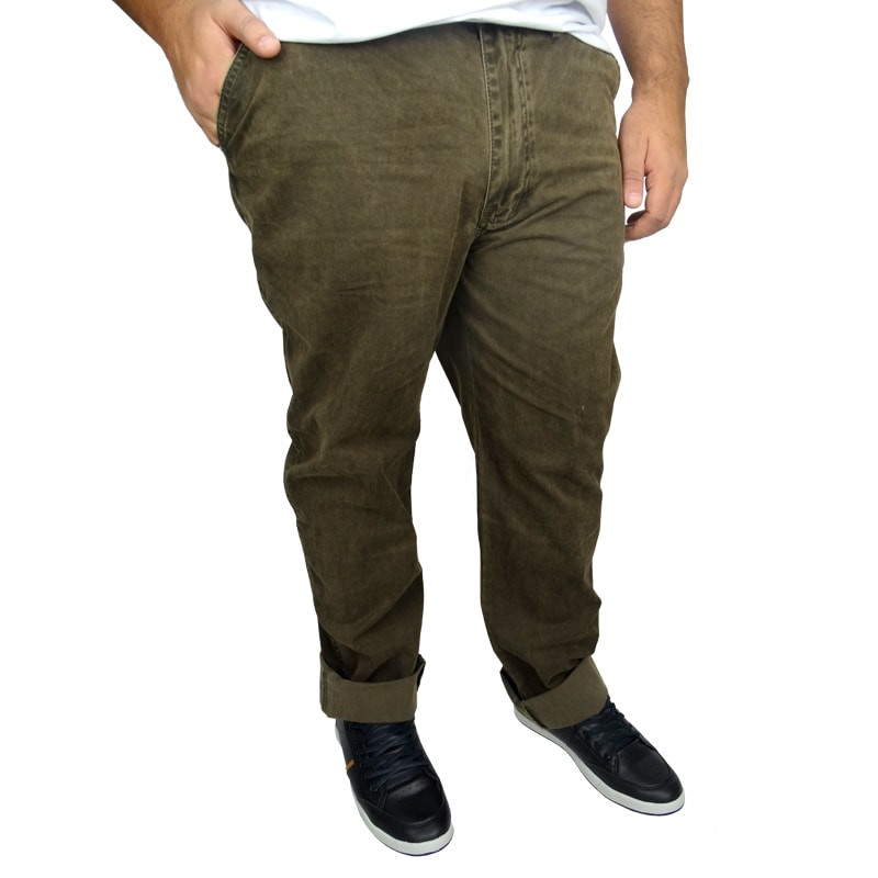 Calça Plus size Masculina Dirty Washed - Mais Pano