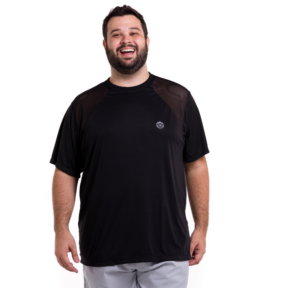 Camiseta Plus Size Masculina Dry Super