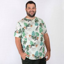 Camiseta Plus Size Masculina Adam
