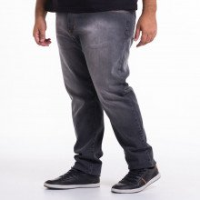 Calça Jeans Plus Size Masculina Slim Black Used