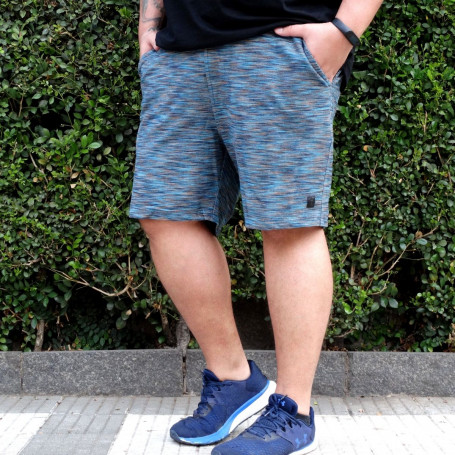 Bermuda Plus Size Masculina de Moletom Channel