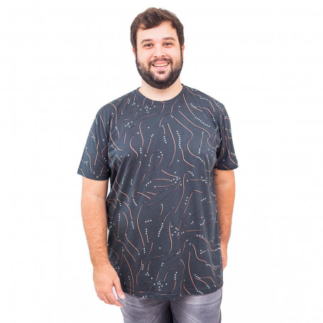 Camiseta Plus Size Masculina Points