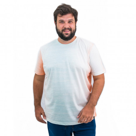 Camiseta Plus Size Masculina Multi Color