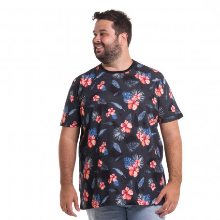 Camiseta Plus Size Masculina Resort