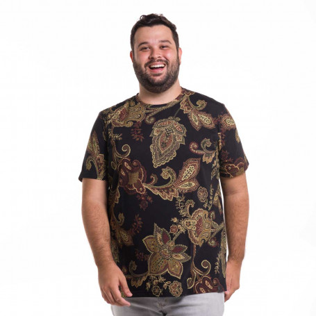 Camiseta Plus Size Masculina Mirror